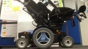 Den Intel-Rollstuhl haben Praktikanten und Mitarbeiter in Intels Internet-der-Dinge-Gruppe entwickelt.