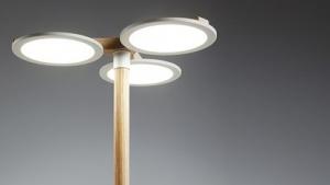OLED-Lampen eignen sich vor allem für gleichmäßige Flächen.