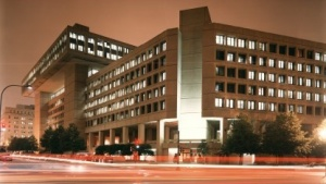 FBI-Zentrale bei Nacht