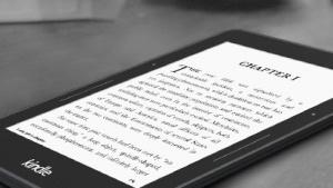 Kindle Voyage mit hochauflösendem Display und Pagepress-Sensoren