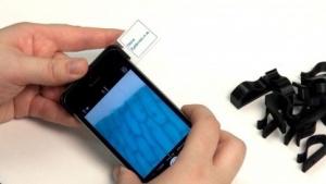 Smartphone-Mikroskop: 1.000fache Vergrößerung mit Glasperle für Fahrbahmarkierung
