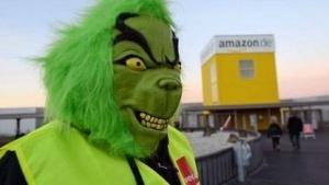 Streiks bei Amazon zum Weihnachtsgeschäft.