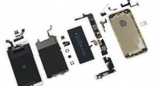 iPhone 6 Plus in Einzelteilen