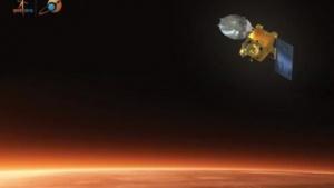 Marssonde Mangalyaan: elliptischer Orbit um den Mars