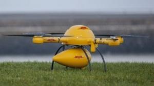 Postdrohne: Gastwirte protestierten gegen Drohnentest.