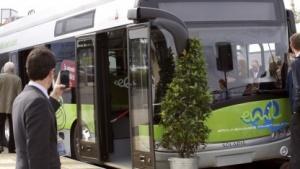 Braunschweigs Emil genannter Bus in der Ausführung mit Gelenk