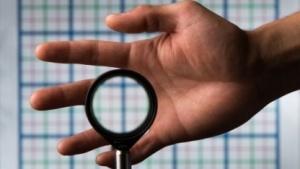 Finger weg: Der Rochester Cloak lässt Objekte im sichtbaren Licht verschwinden.