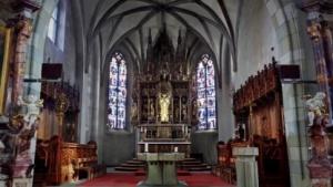 Kirchenschiff mit Unlimited Detail und Solidscan