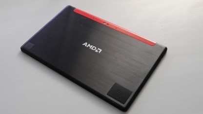 AMDs aktuelles Referenz-Tablet Discovery 2 mit Mullins-APU
