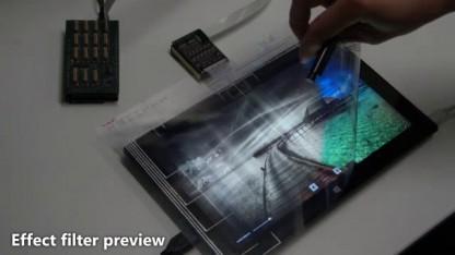 Flex Sense ist eine Display-Folie mit Sensoren.