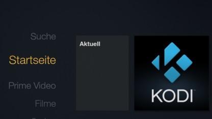 Kodi läuft auf dem Fire TV.