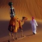 Liwa-Oase: Google Street View bietet Kamelaussichten