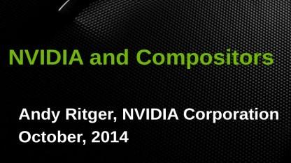 Nvidias proprietärer Linux-Treiber wird Wayland unterstützen.