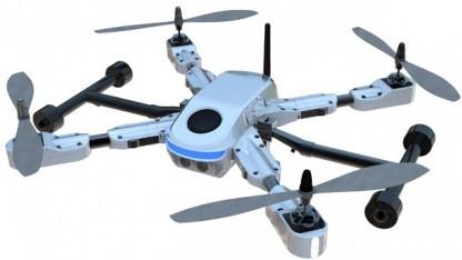 Gopro plant eigene Drohnen - ähnlich wie die Flexidrone.