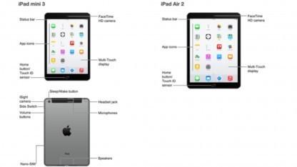 iPad Air 2 und iPad Mini 3