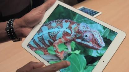 Das iPad Air 2 hat ein verbessertes Display.