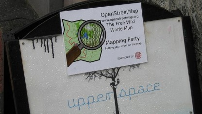 Openstreetmap ist die bekannteste humanitäre freie und offene Software.