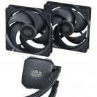 Nepton 120XL und 240M: Cooler Master macht Wasserkühlungen leiser