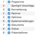 Mac OS X 10.10: Aufregung um erweiterte Spotlight-Suche