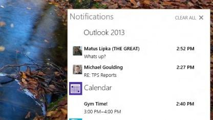 Das neue Infocenter von Windows 10