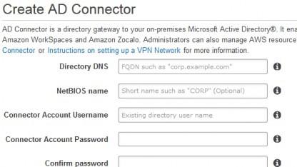 Amazon bietet Active Directory nun in seiner Cloud.
