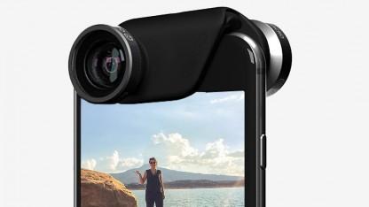Zusatzobjektive für iPhone 6 und iPhone 6 Plus