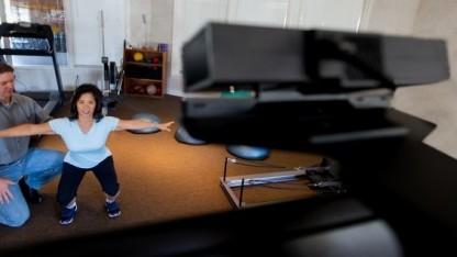 Kinect im Einsatz