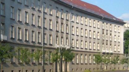 Das städtische Verwaltungsgebäude C, Sitz der Finanzverwaltung