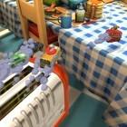 Toybox Turbos: Codemasters veranstaltet Rennen auf dem Frühstückstisch