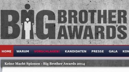 In Österreich sind die Big Brother Awards 2014 vergeben worden.