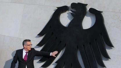 Bundesinnenminister Thomas de Maizière (CDU) ist verantwortlich für das sichere Bundesnetz.