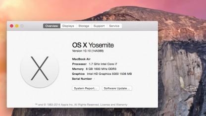 OS X Yosemite bringt praktische Änderungen für iOS-Nutzer.
