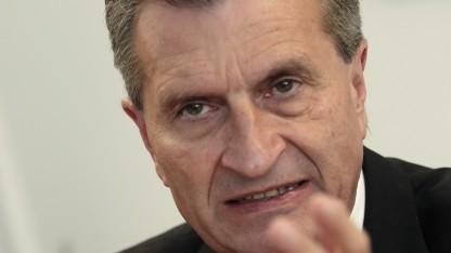 Der neue EU-Digitalkommissar Oettinger will das Urheberrecht auf EU-Ebene vereinheitlichen.