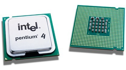 Späterer Pentium 4, schon mit LGA-Kontakten