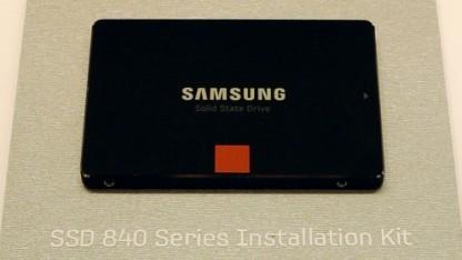 Auch die SSD 840 ohne Evo oder Pro kann langsamer werden.