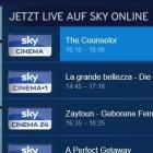 Streaming: Sky als Online-Abo mit Live-TV und Einzelabruf