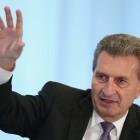 """EU-Digitalkommissar Oettinger: """"Übertreibt es nicht mit dem Datenschutz"""""""