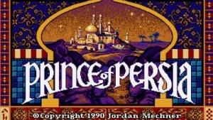 """Titelbild des ersten """"Prince of Persia"""""""
