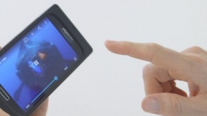 Smartphone mit Ultraschall-Gesten bedienen