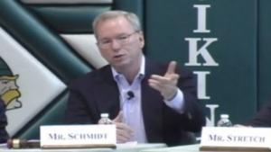 Google-Chef Schmidt warnt vor den Folgen der Massenüberwachung für das Netz.