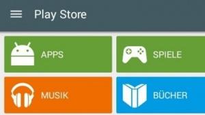 Neuer Play Store im Material Design