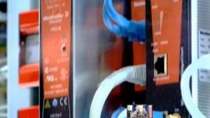 Industriemaschinen mit Internetverbindung auf der Hannover Messe 2014, Industrie  4.0