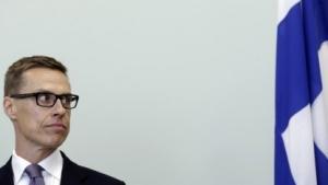 Finnlands Ministerpräsident Alexander Stubb