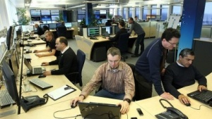 Experten in der Telefonica-O2-Netzzentrale