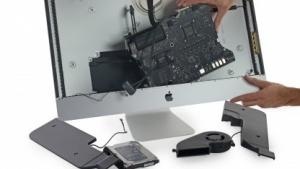 Zerlegter iMac mit Retina-Display