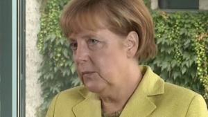 Bundeskanzlerin Angela Merkel setzt auf den einheitlichen europäischen Digitalraum.