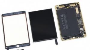 iPad Mini 3 in Einzelteilen