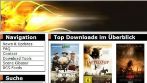 Homepage von Torrent.to