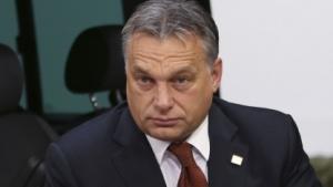 Viktor Orbán bei Ankunft auf dem EU-Gipfel am 24. Oktober 2014.