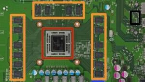 Platine der Xbox One mit 28-nm-SoC